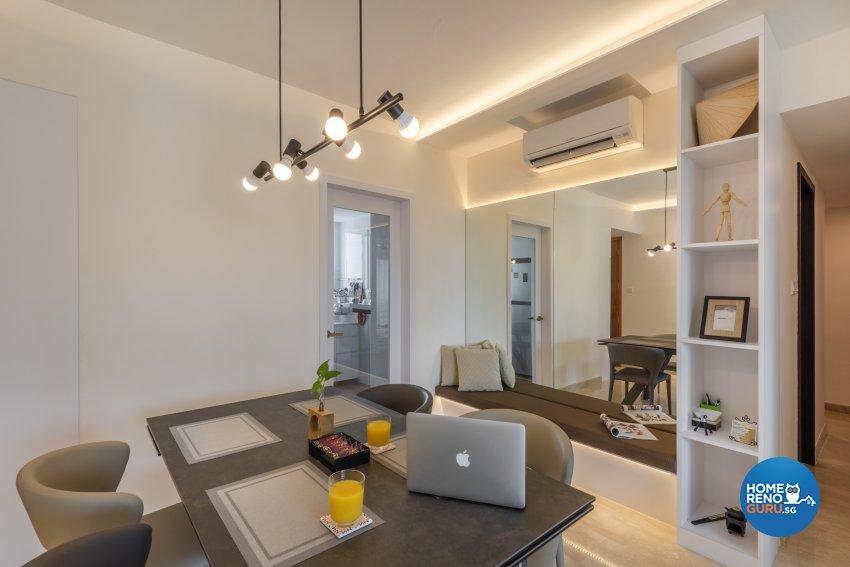 Classical Design - Dining Room - Condominium - Design by Le Interi