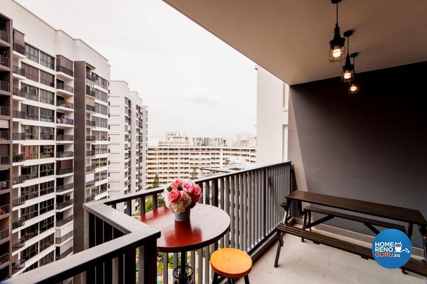 HDB 4 Room – Belvia by Le Interi Design Pte Ltd
