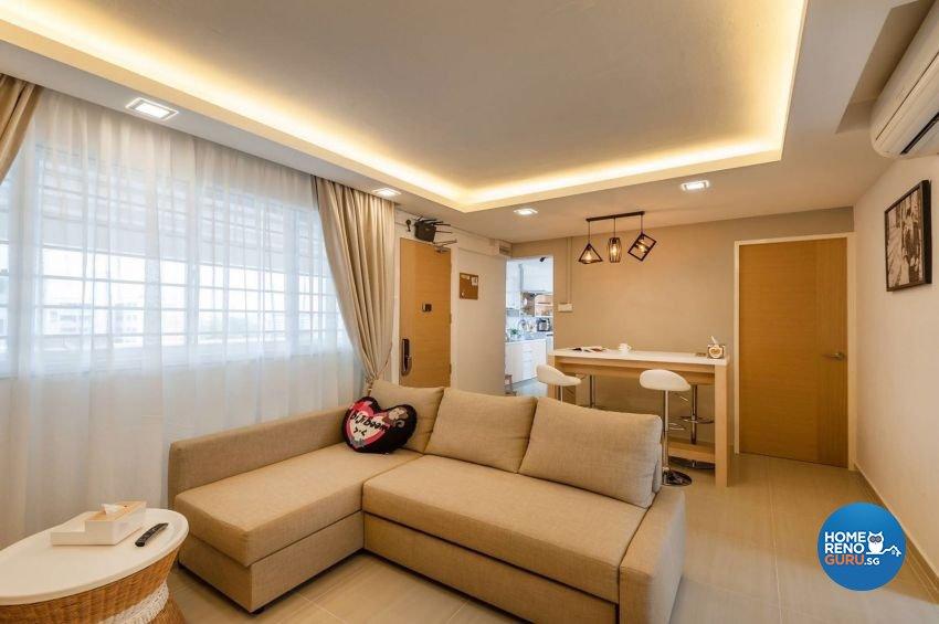 Minimalist, Modern, Scandinavian Design - Living Room - Others - Design by Le Interi