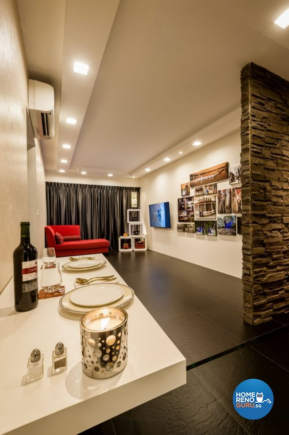 Eclectic, Minimalist, Modern Design - Living Room - Others - Design by Le Interi