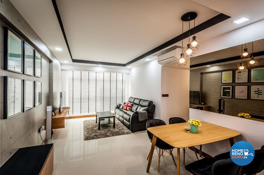 Industrial, Minimalist, Modern Design - Living Room - Others - Design by Le Interi