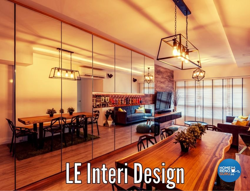 Industrial, Rustic Design - Dining Room - Others - Design by Le Interi