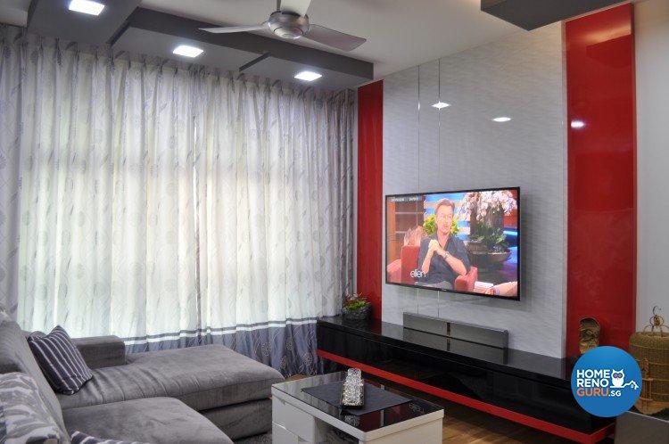 Contemporary, Modern, Retro Design - Living Room - Others - Design by Le Interi