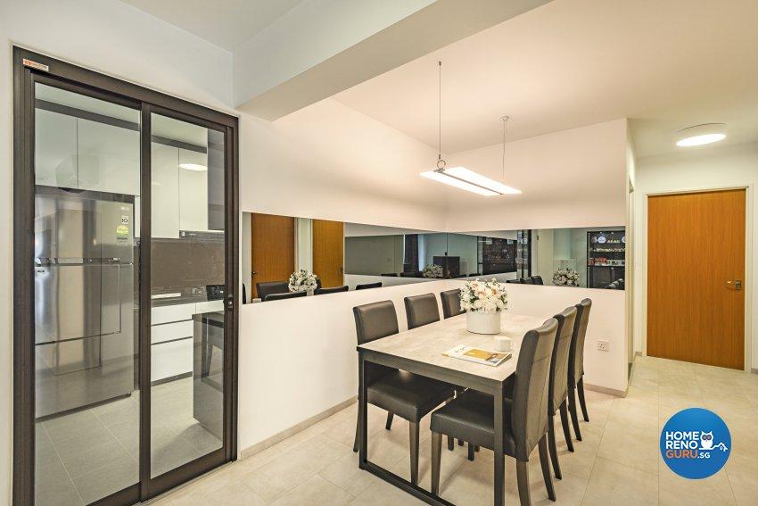 Contemporary Design -  - HDB 5 Room - Design by Le Interi