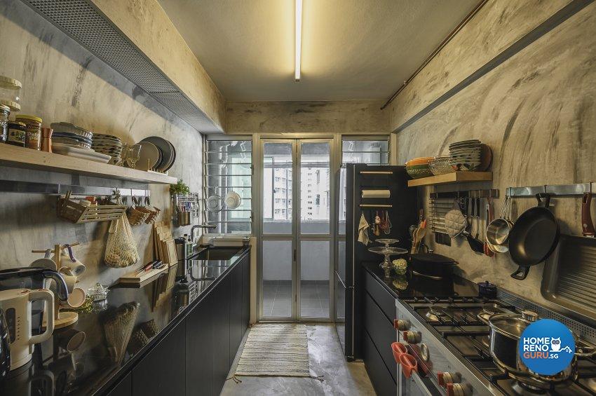 Eclectic, Retro, Rustic Design -  - HDB 5 Room - Design by Le Interi