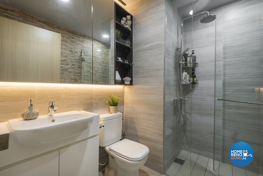 Contemporary, Modern, Others Design - Bathroom - Condominium - Design by Le Interi
