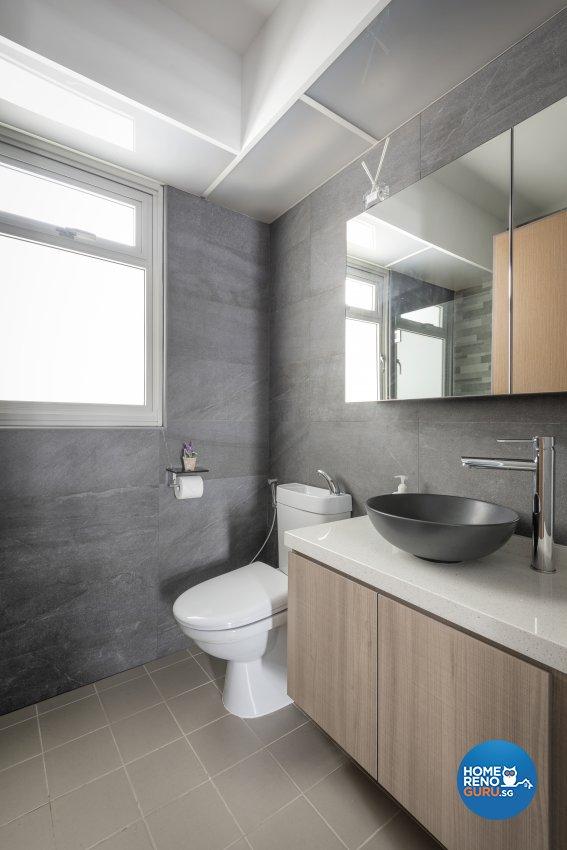 Contemporary, Modern, Scandinavian Design - Bathroom - HDB 4 Room - Design by Le Interi