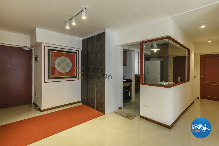 Contemporary, Modern Design - Dining Room - HDB 5 Room - Design by Le Interi