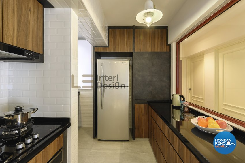 Contemporary, Modern Design - Kitchen - HDB 5 Room - Design by Le Interi