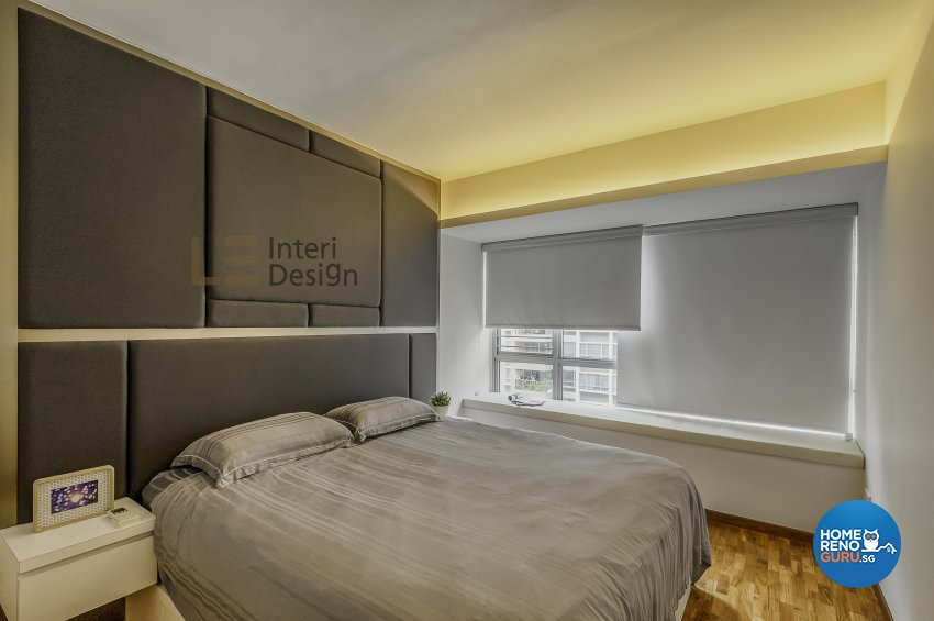 Contemporary, Modern Design - Bedroom - HDB 5 Room - Design by Le Interi