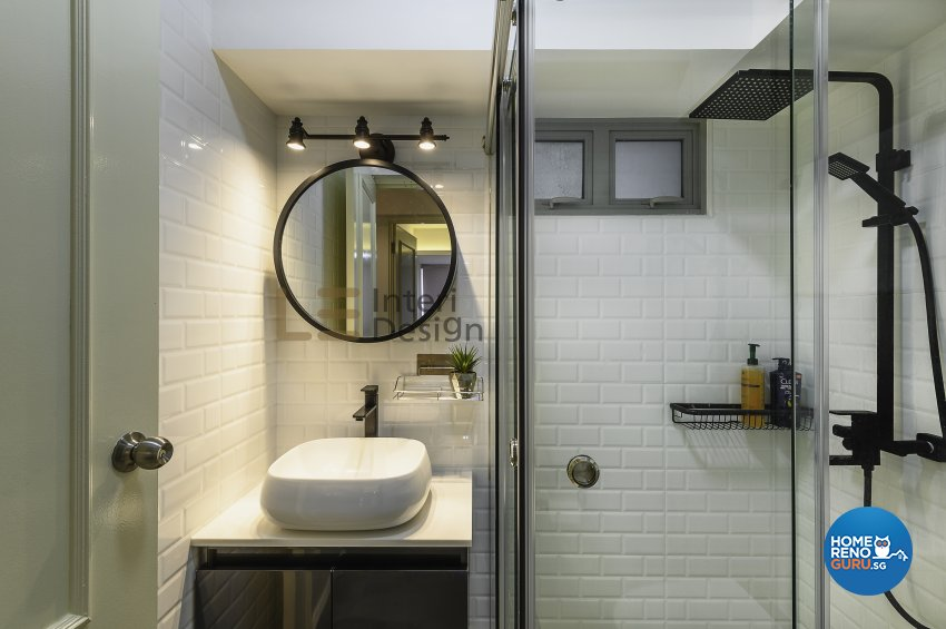 Contemporary, Modern Design - Bathroom - HDB 5 Room - Design by Le Interi