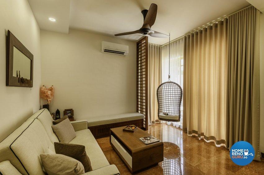 Classical, Contemporary, Resort Design - Entertainment Room - Condominium - Design by Le Interi