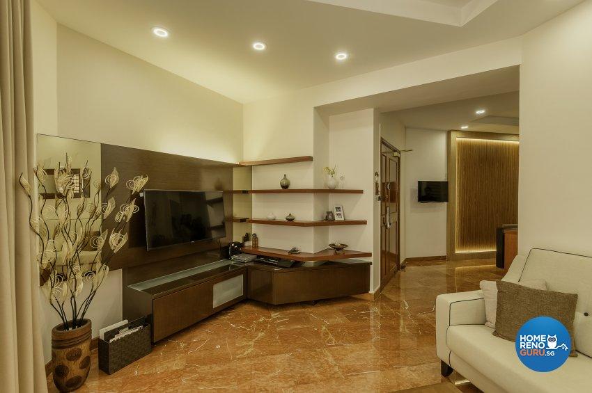 Classical, Contemporary, Resort Design - Living Room - Condominium - Design by Le Interi