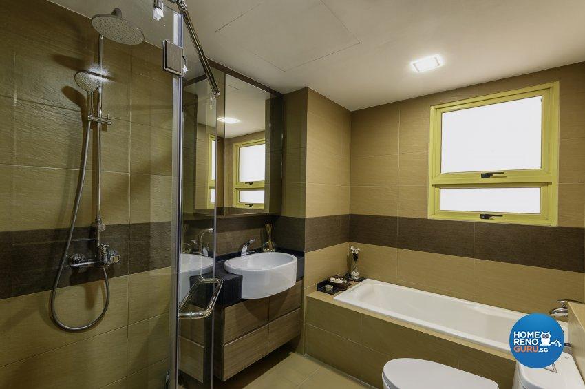 Classical, Contemporary, Resort Design - Bathroom - Condominium - Design by Le Interi