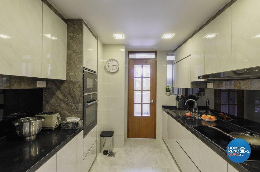Classical, Contemporary, Resort Design - Kitchen - Condominium - Design by Le Interi