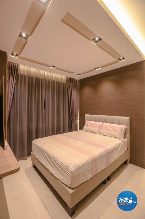 Modern Design - Bedroom - Condominium - Design by Le Interi