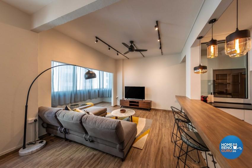 Modern Design - Living Room - Condominium - Design by Leef Deco Pte Ltd