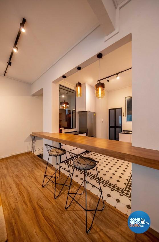 Modern Design - Dining Room - Condominium - Design by Leef Deco Pte Ltd