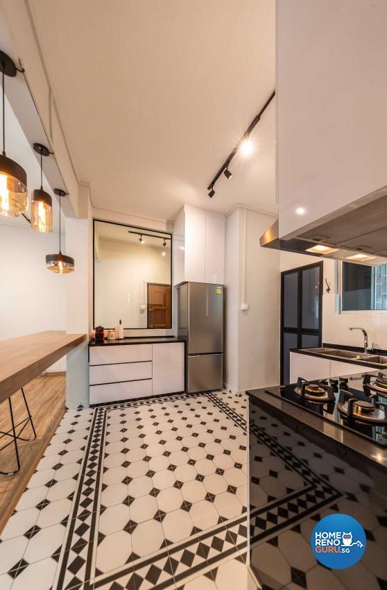 Modern Design - Kitchen - Condominium - Design by Leef Deco Pte Ltd