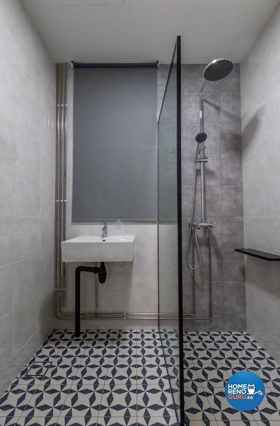 Modern Design - Bathroom - Condominium - Design by Leef Deco Pte Ltd