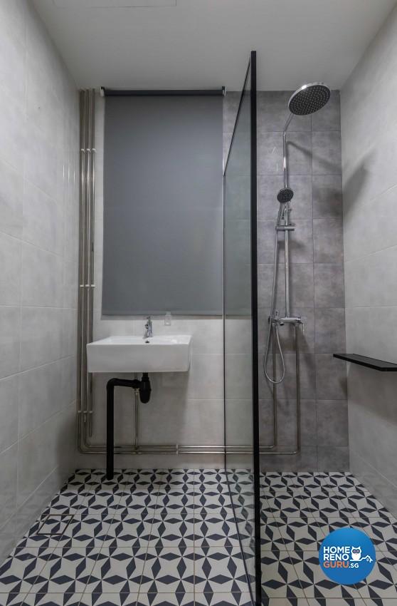Modern Design - Bathroom - Condominium - Design by Leef Deco Pte Ltd