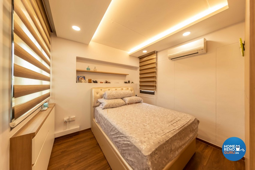 Modern Design - Bedroom - HDB 4 Room - Design by Leef Deco Pte Ltd