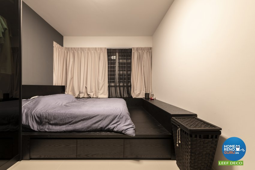 Contemporary, Modern, Scandinavian Design - Bedroom - HDB 4 Room - Design by Leef Deco Pte Ltd