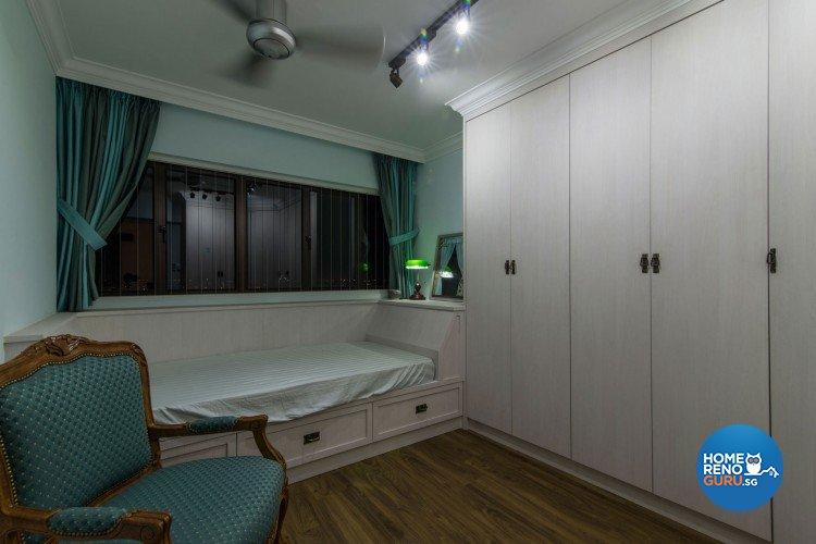 Country, Modern, Scandinavian Design - Bedroom - HDB 5 Room - Design by Leef Deco Pte Ltd