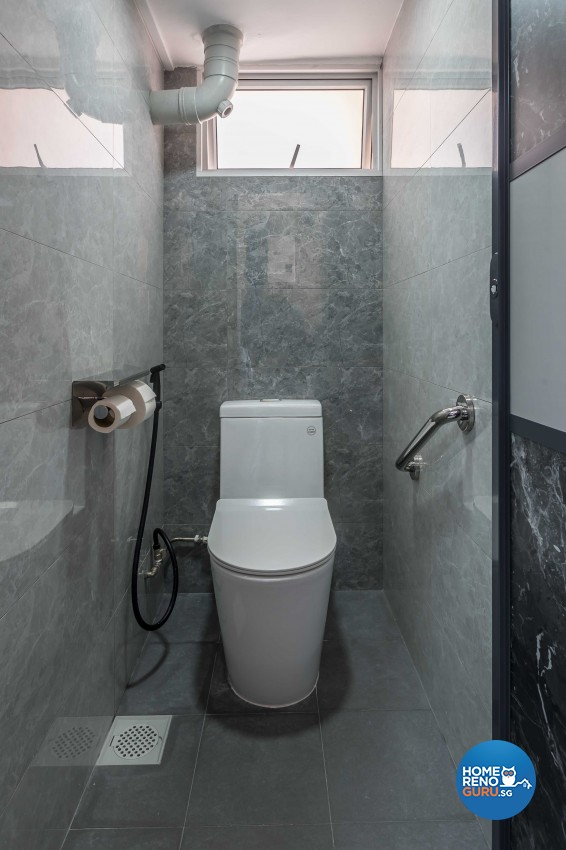 Modern Design - Bathroom - HDB 3 Room - Design by Leef Deco Pte Ltd