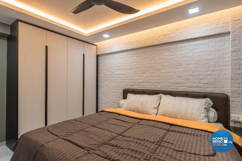 Design - Bedroom - HDB 3 Room - Design by Leef Deco Pte Ltd