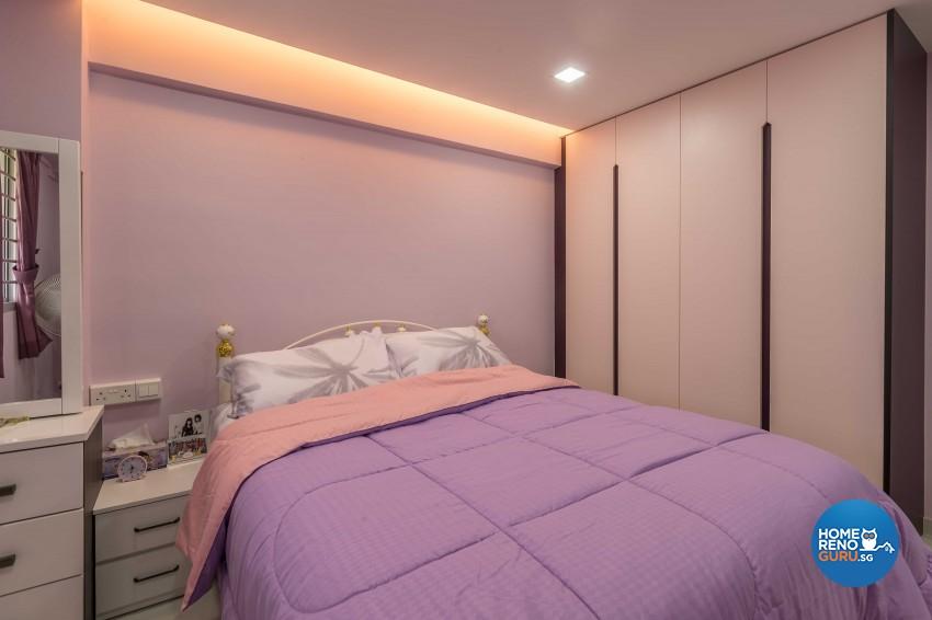 Modern Design - Bedroom - HDB 3 Room - Design by Leef Deco Pte Ltd