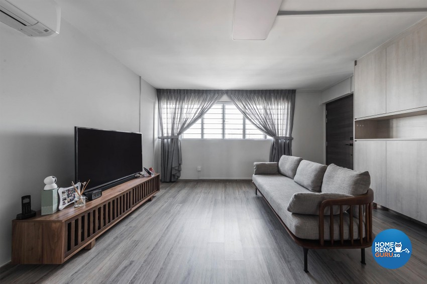 Modern, Others Design - Living Room - HDB 4 Room - Design by Leef Deco Pte Ltd
