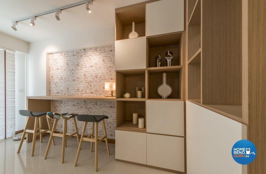 Contemporary, Modern, Scandinavian Design - Living Room - HDB 4 Room - Design by Leef Deco Pte Ltd