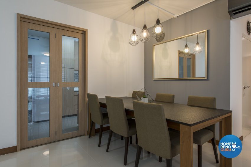 Contemporary, Modern, Scandinavian Design - Dining Room - HDB 4 Room - Design by Leef Deco Pte Ltd