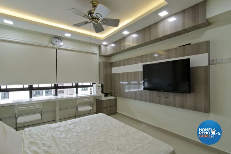 Contemporary, Modern Design - Bedroom - HDB 5 Room - Design by Leef Deco Pte Ltd