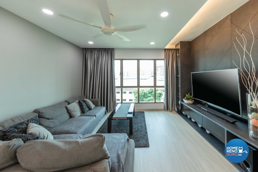 Modern Design - Living Room - Condominium - Design by Leef Deco Pte Ltd