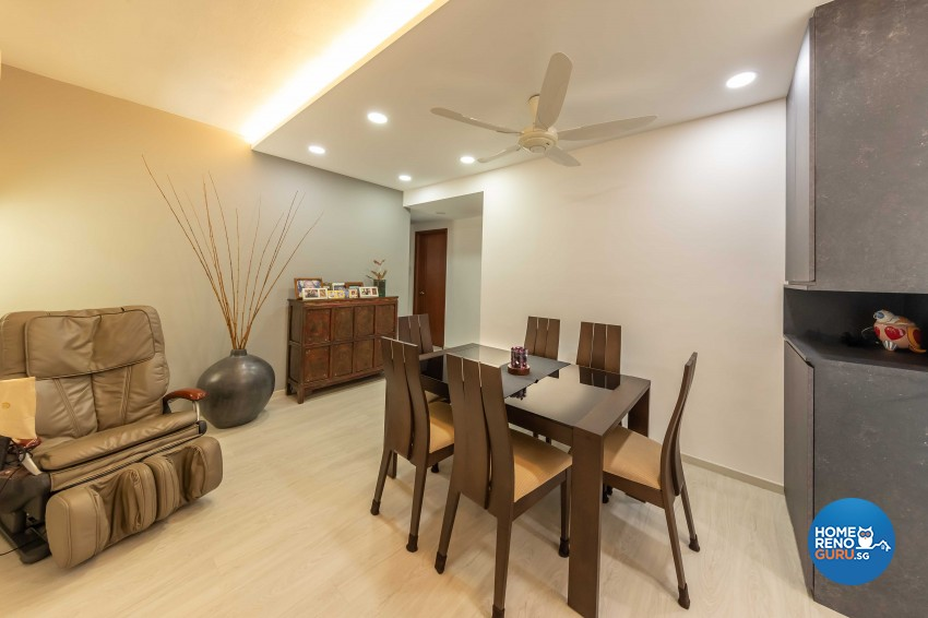 Modern Design - Dining Room - Condominium - Design by Leef Deco Pte Ltd