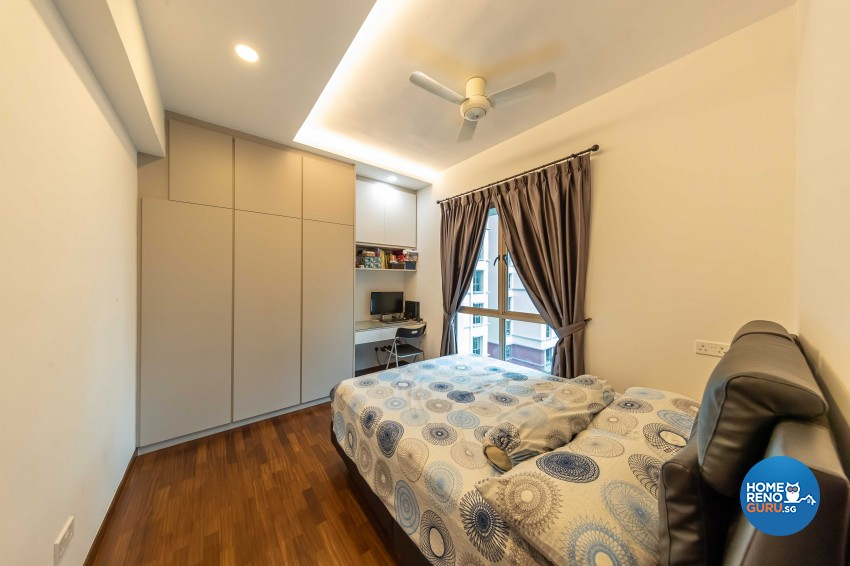 Modern Design - Bedroom - Condominium - Design by Leef Deco Pte Ltd