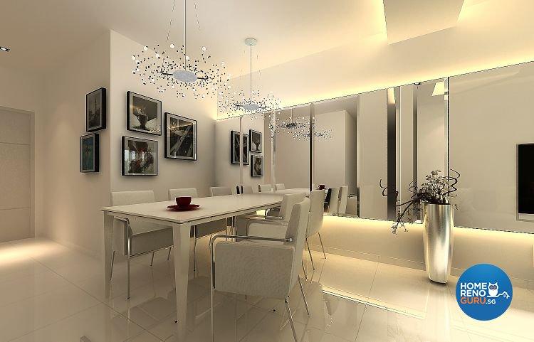 Contemporary, Modern Design - Dining Room - Condominium - Design by Living Gaia