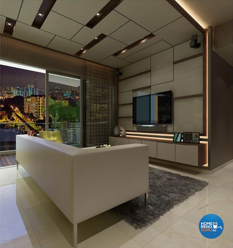 Contemporary, Scandinavian Design - Living Room - Condominium - Design by Living Gaia