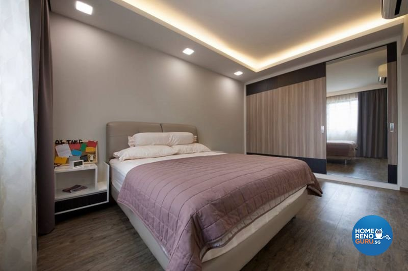 Contemporary, Minimalist, Scandinavian Design - Bedroom - HDB 5 Room - Design by Living Gaia