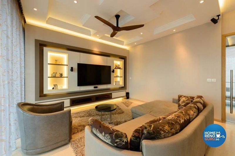 Classical, Modern Design - Living Room - Condominium - Design by Living Gaia