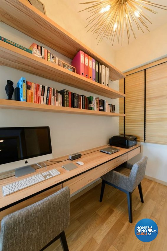 Classical, Modern Design - Study Room - Condominium - Design by Living Gaia