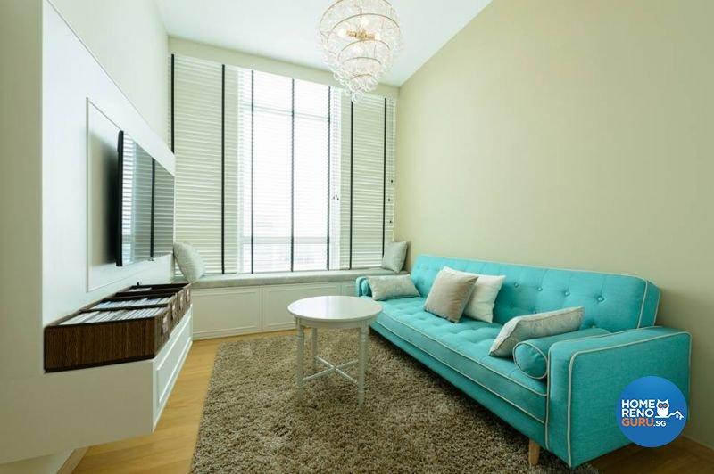 Classical, Modern Design - Entertainment Room - Condominium - Design by Living Gaia