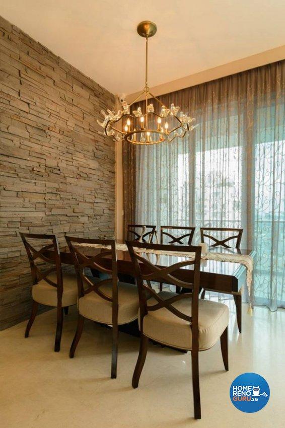Classical, Modern Design - Dining Room - Condominium - Design by Living Gaia