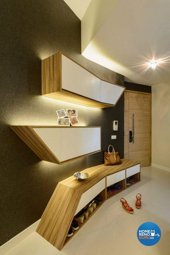 Contemporary, Modern Design - Living Room - Condominium - Design by Living Gaia