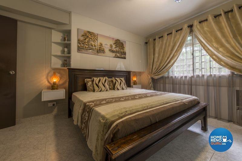Resort, Tropical Design - Bedroom - HDB Executive Apartment - Design by Living Gaia