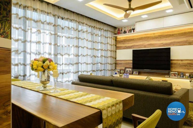 Contemporary, Victorian Design - Living Room - Condominium - Design by Living Gaia