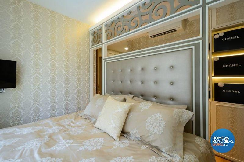 Contemporary, Victorian Design - Bedroom - Condominium - Design by Living Gaia