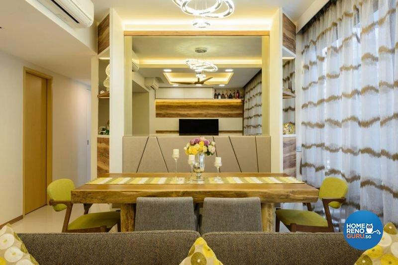 Contemporary, Victorian Design - Dining Room - Condominium - Design by Living Gaia
